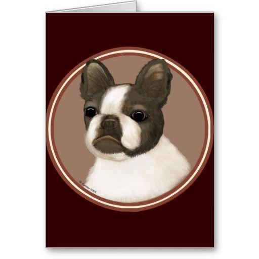 Boston Terrier Rondo Greeting Cards Boston Terrier Birthday Card