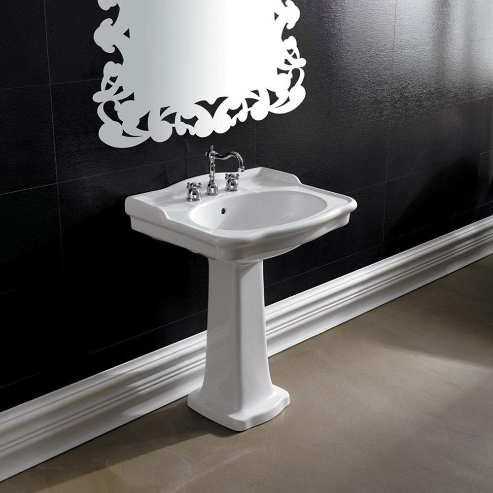 Lavabo A Colonna Design lavabo bagno a colonna in ceramica boheme alice ceramica