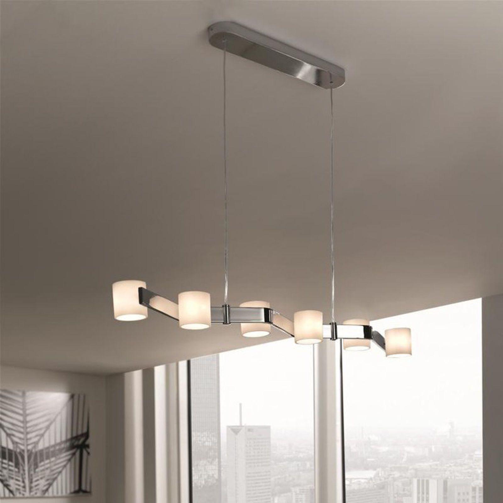Freya Pendelleuchte Hängeleuchte 6x G4 20 Watt Decken Lampe Leuchte Massive in Möbel & Wohnen, Beleuchtung, Deckenlampen & Kronleuchter | eBay!