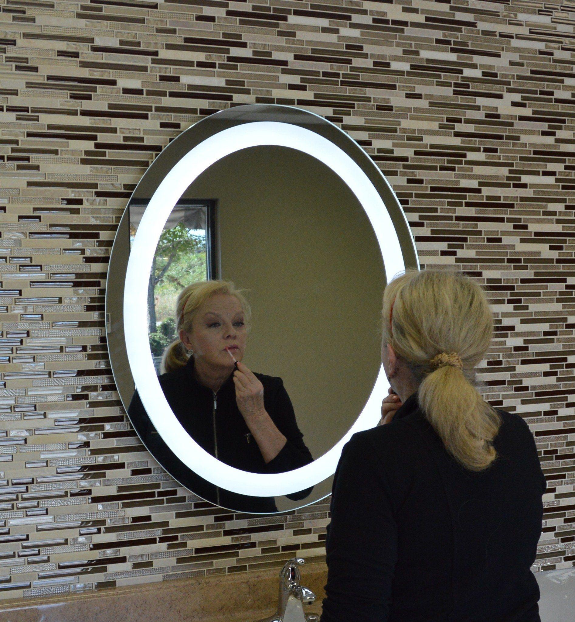 Front Lighted Led Bathroom Vanity Mirror 30 Bathroom Vanity Mirror Vanity Mirror Led Vanity [ 2046 x 1894 Pixel ]