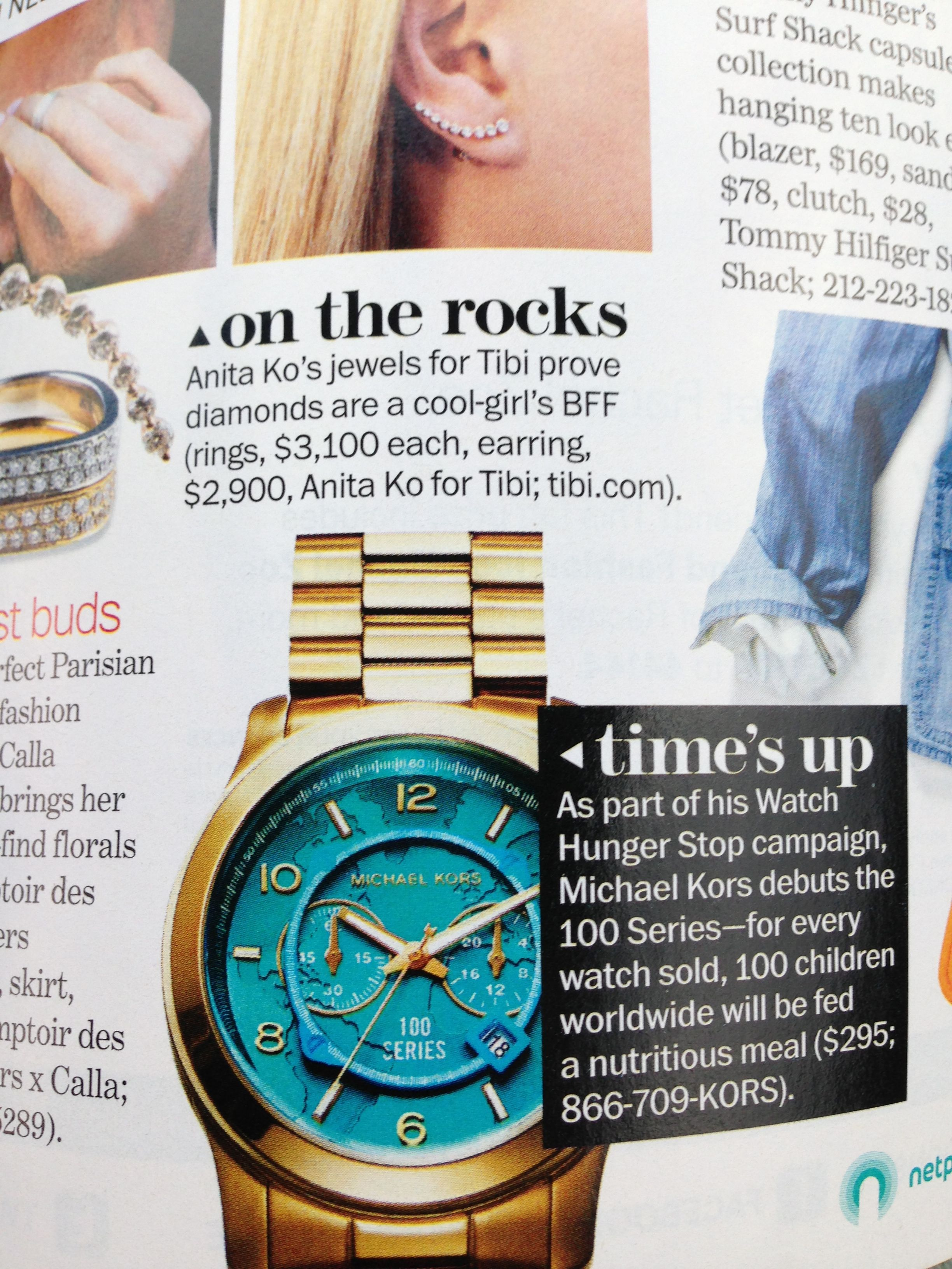Michael Kors watch - 100 series