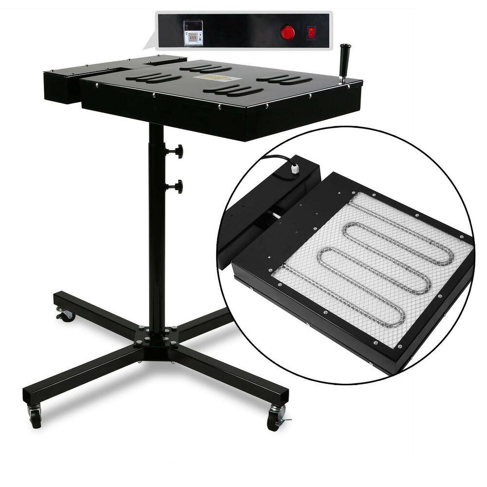 "18/""x18/"" Flash Dryer Silkscreen Printing Drying Control Box Plastisol Ink"