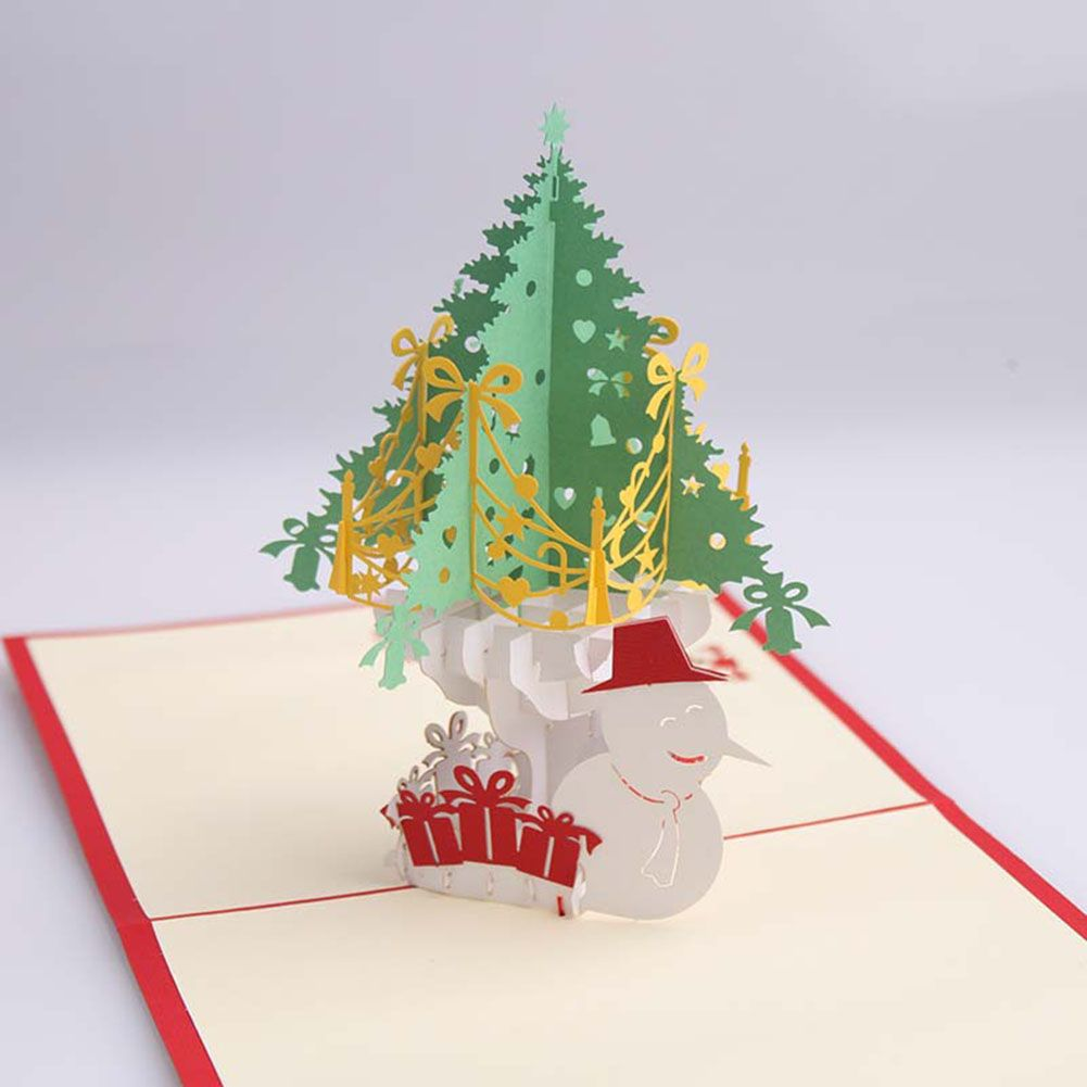 3d Up Merry Christmas Series Santa Greeting Cards Christmas Gifts