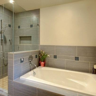 Image result for shower tub pony wall | home ideas | Pinterest ...
