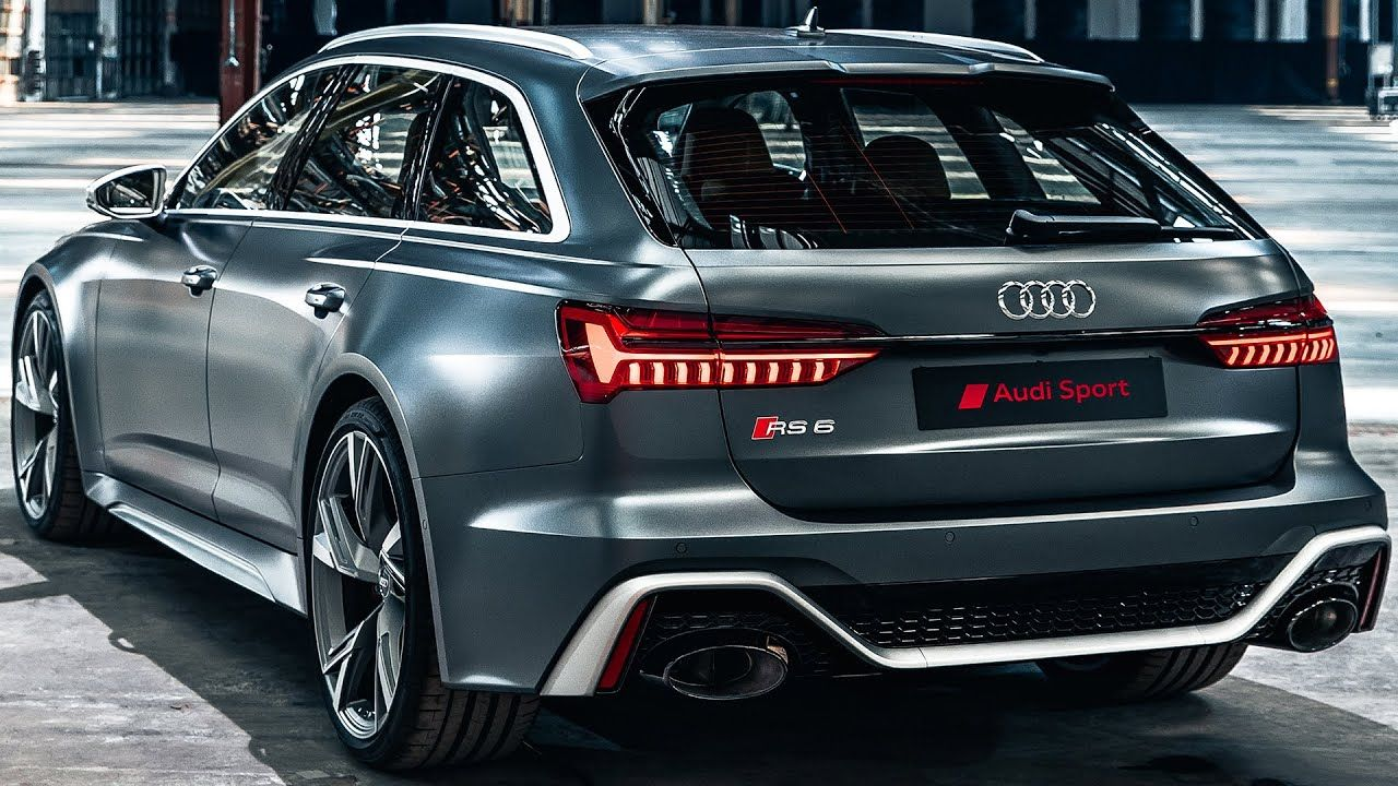 Audi Rs6 Avant 2020 First Look Sound Youtube