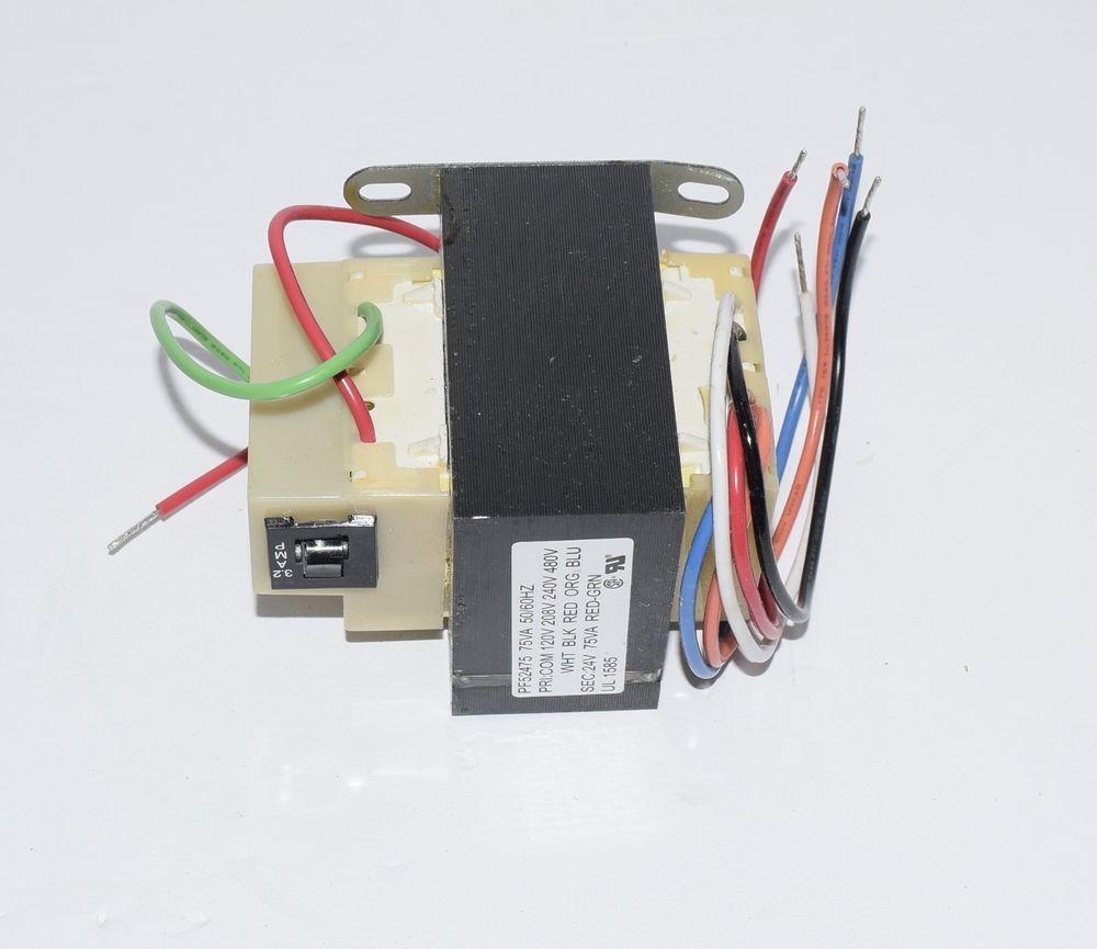 Packard Pf52475 Foot Mount Transformer Input 120 208 240 480va Outpur 75va Packard 20 14 Ebay