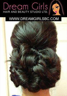 #hairstyles #updo #partyhairdo #dreamgirlsbeauty #beautystudio