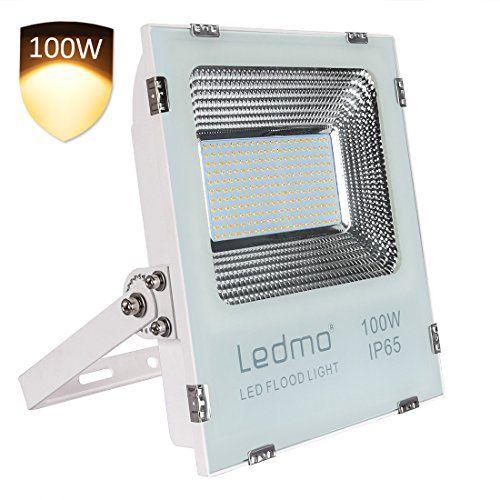 LEDMO 100W LED Flood Lights étanche IP65 pour extérieur Projecteur