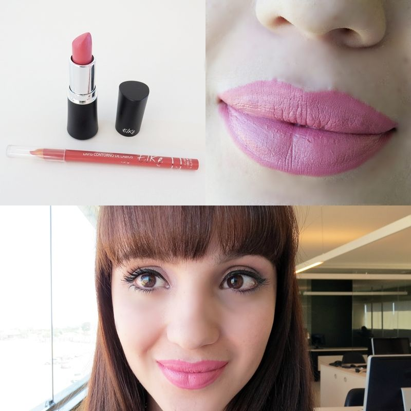 batom matte barato elke mac provocadora lapis nude lips lipstick blogger makeup