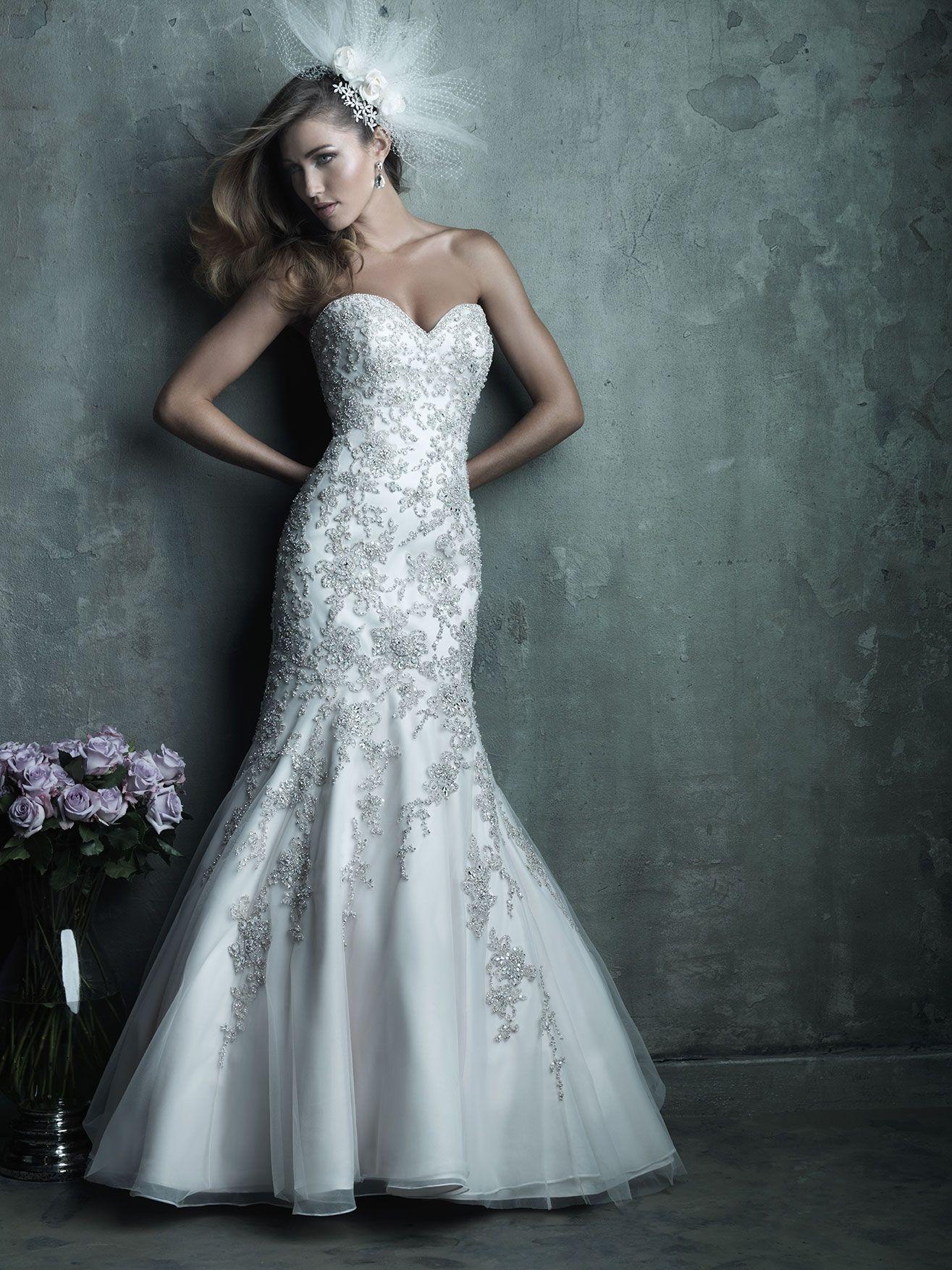 Allure Bridals: Style: C283 :: Garden Wedding Dress | Dream wedding ...
