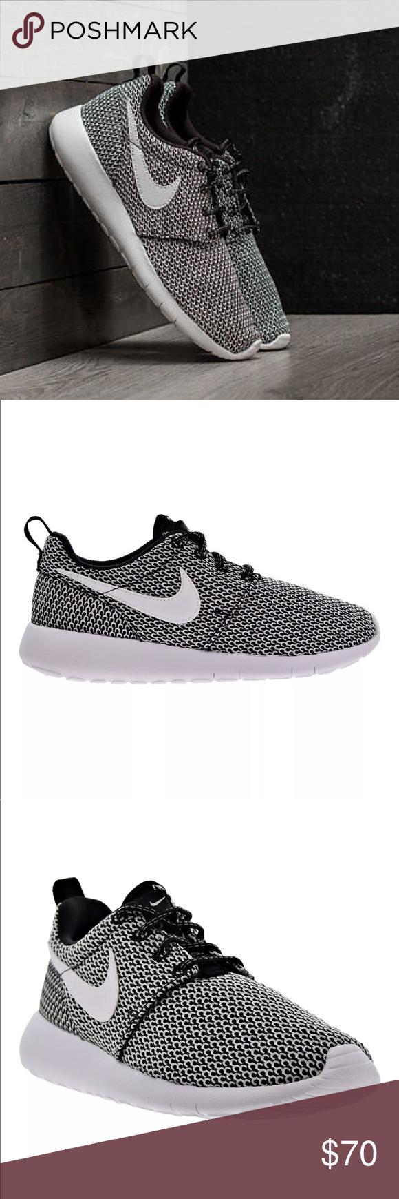 Sale Nike Roshe One Women S Black White Shoes Black And White Shoes White Shoes Shoes