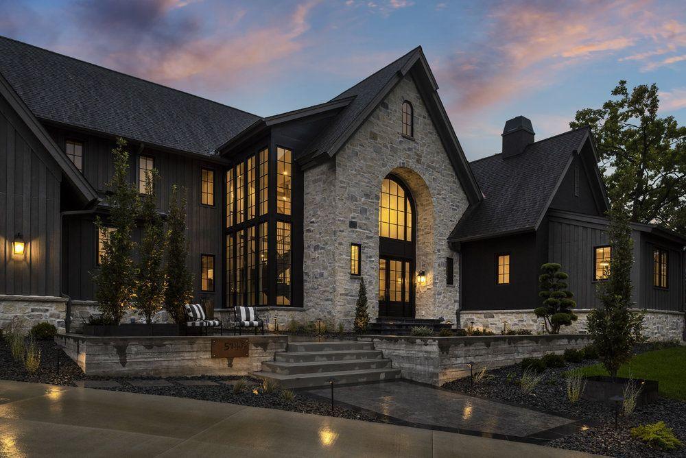 Rustic Belgian Carl M Hansen Companies In 2020 Rustic Houses Exterior Mountain Home Exterior Modern House Exterior
