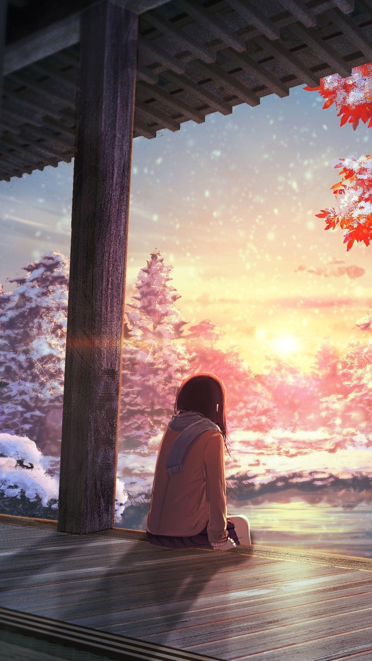 Wallp4k Anime Pemandangan Anime Pemandangan Latar Belakang
