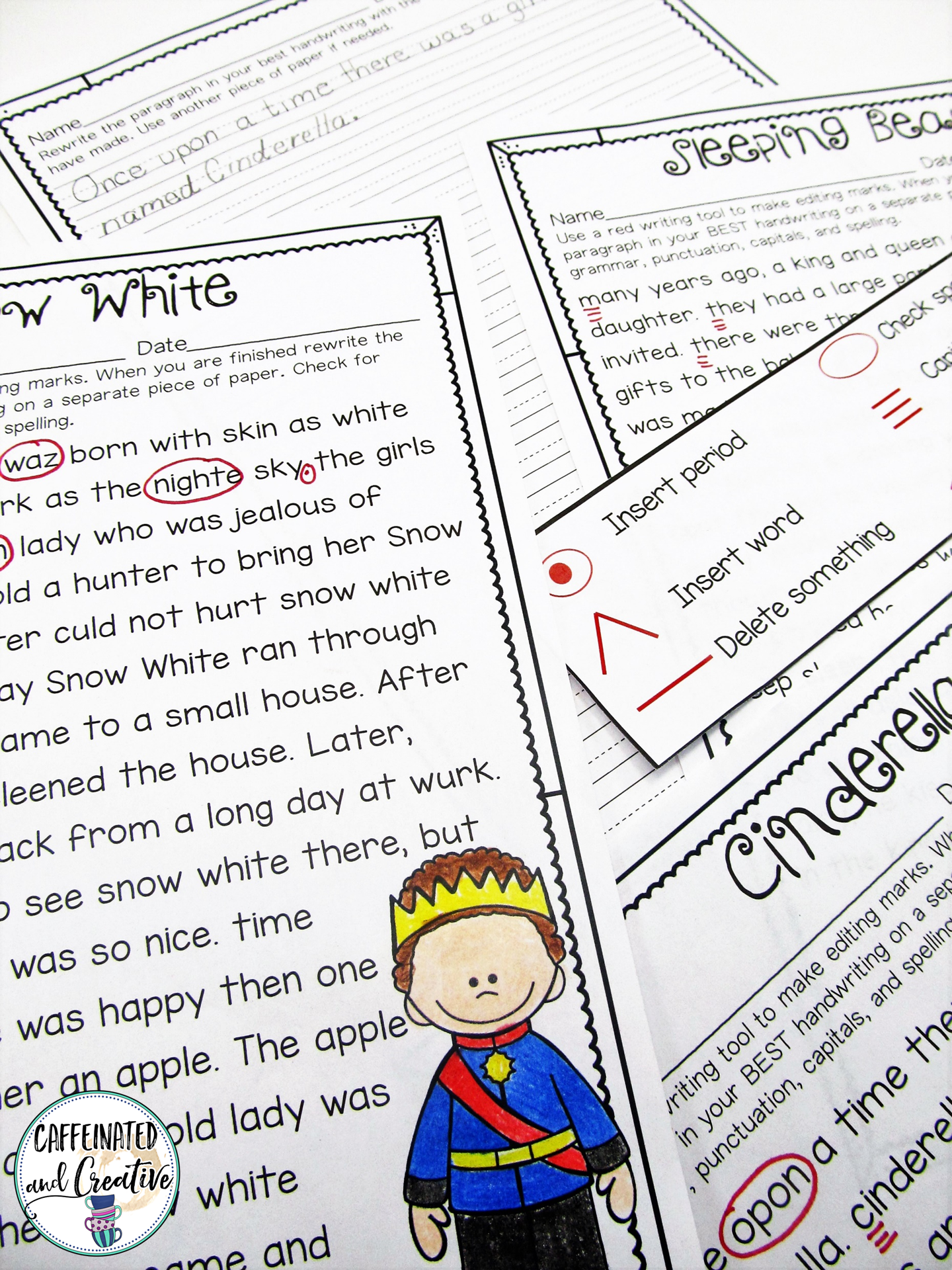 Princess Proofreading A Free Proofreading Activity