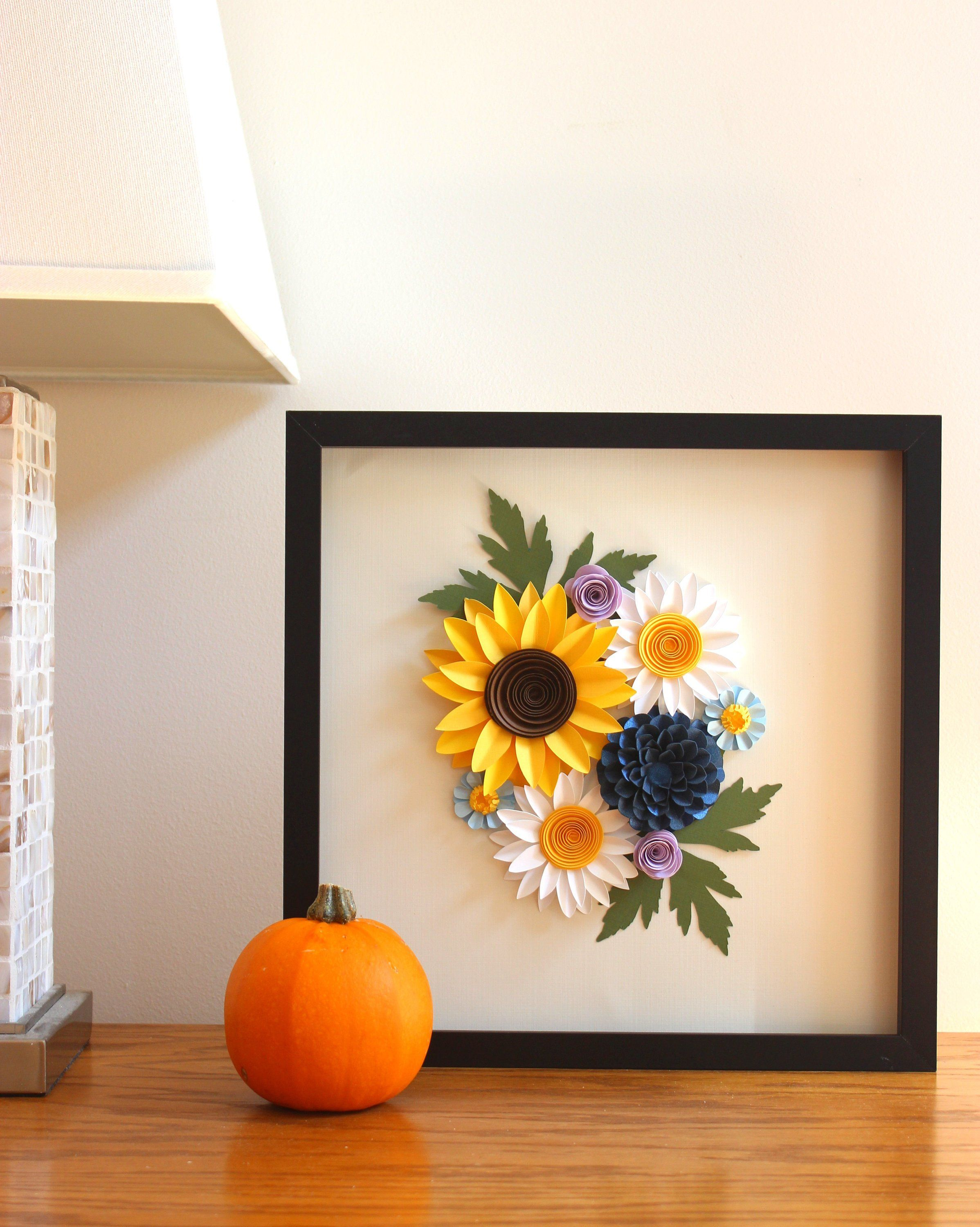 how to make a flower wall uk