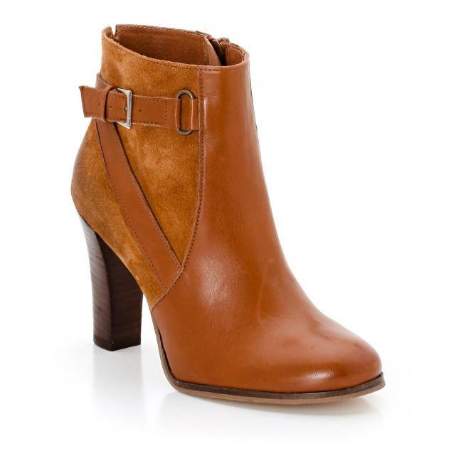 5f120220757 Boots bi-matière Jonak prix promo La Redoute 129.00 € TTC