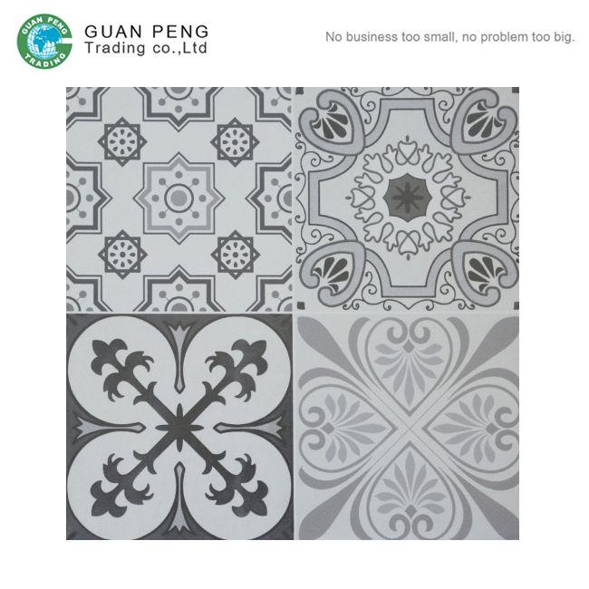 300x300mm Tiles Floor Ceramic Plain Color Rubber Paver Tile
