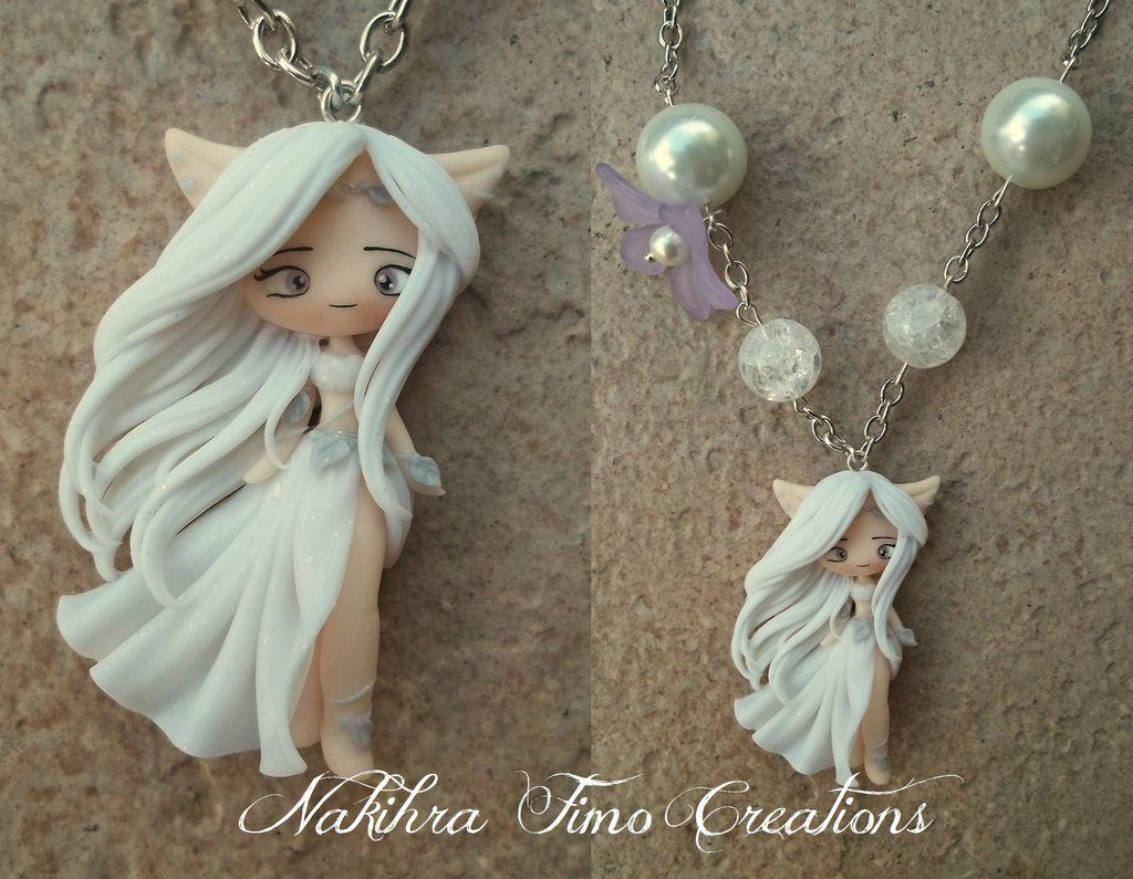 Nakihra Priestess of the Moon polymer clay by Nakihra.deviantart.com on @deviantART