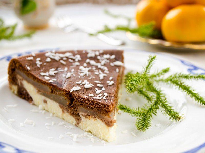 tarte chocolat coco recette tartes sucr es et p tes. Black Bedroom Furniture Sets. Home Design Ideas