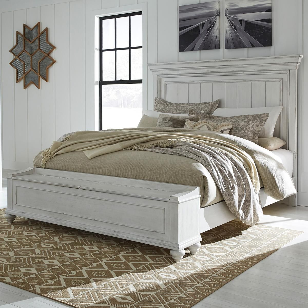 Signature Design by Ashley Kanwyn Queen Storage Bed in
