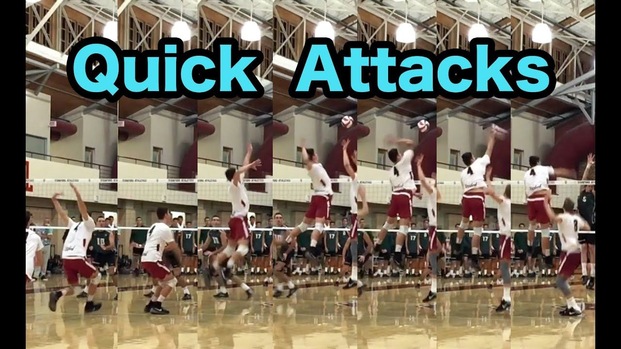 Spiking Quick Attacks How To Spike A Volleyball Tutorial Volleyball Coaching Volleyball Attack