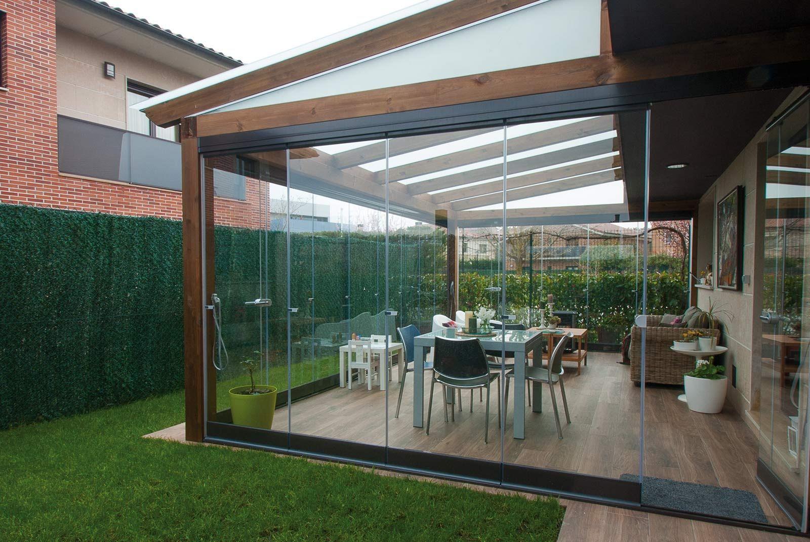Tende Veranda Cristal : Image result for porches cerrados de cristal home ideas