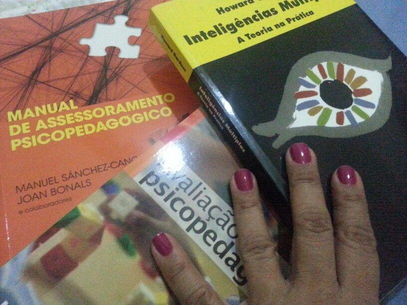 Ampliando o conhecimento. #livros #psicopedagogia #ferias