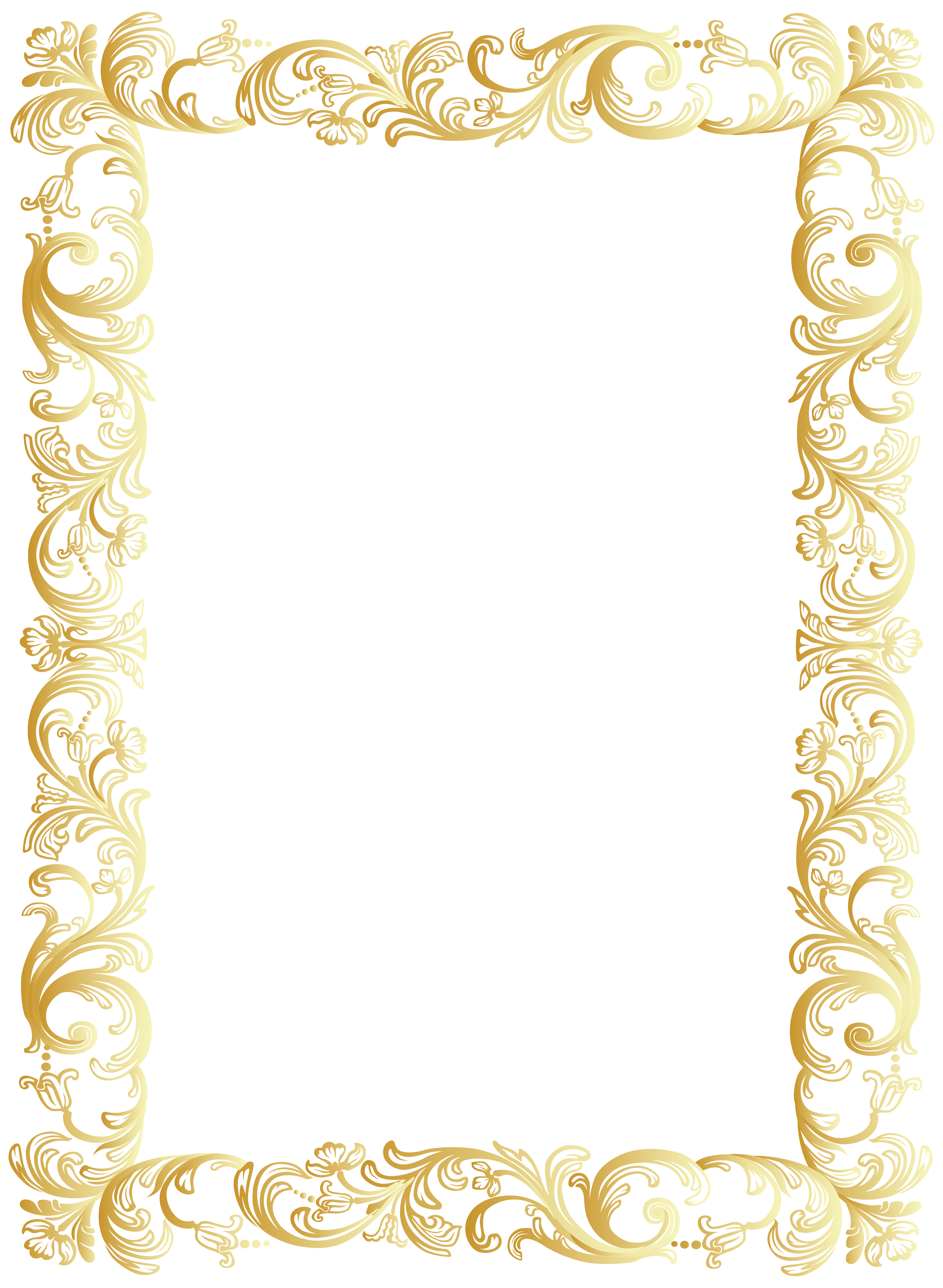 Vintage Border Frame Clip Art Png Image Gallery Yopriceville High Quality Images And Transparent Png Clip Art Frames Borders Vintage Borders Frame Clipart