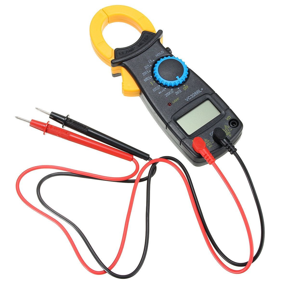 Us850 Vc3266l Digital Clamp Meter Multimeter Electronic Ac Dc Lcd Voltmeter Ammeter Ohm Circuit Checker Volt Voltage Amp