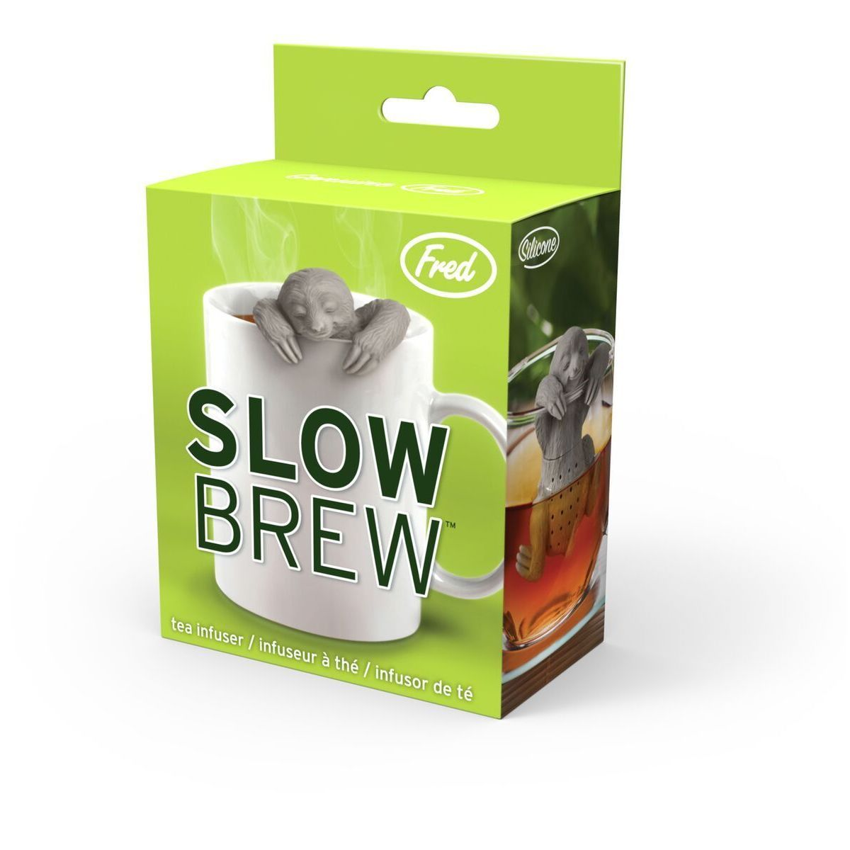 Fred And Friends Slow Brew Sloth Tea Infuser (Green) (Aluminum)