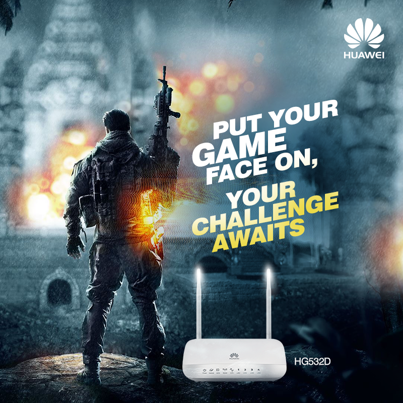 HG532D, a #WiFi router made for a super-stimulating gaming ...