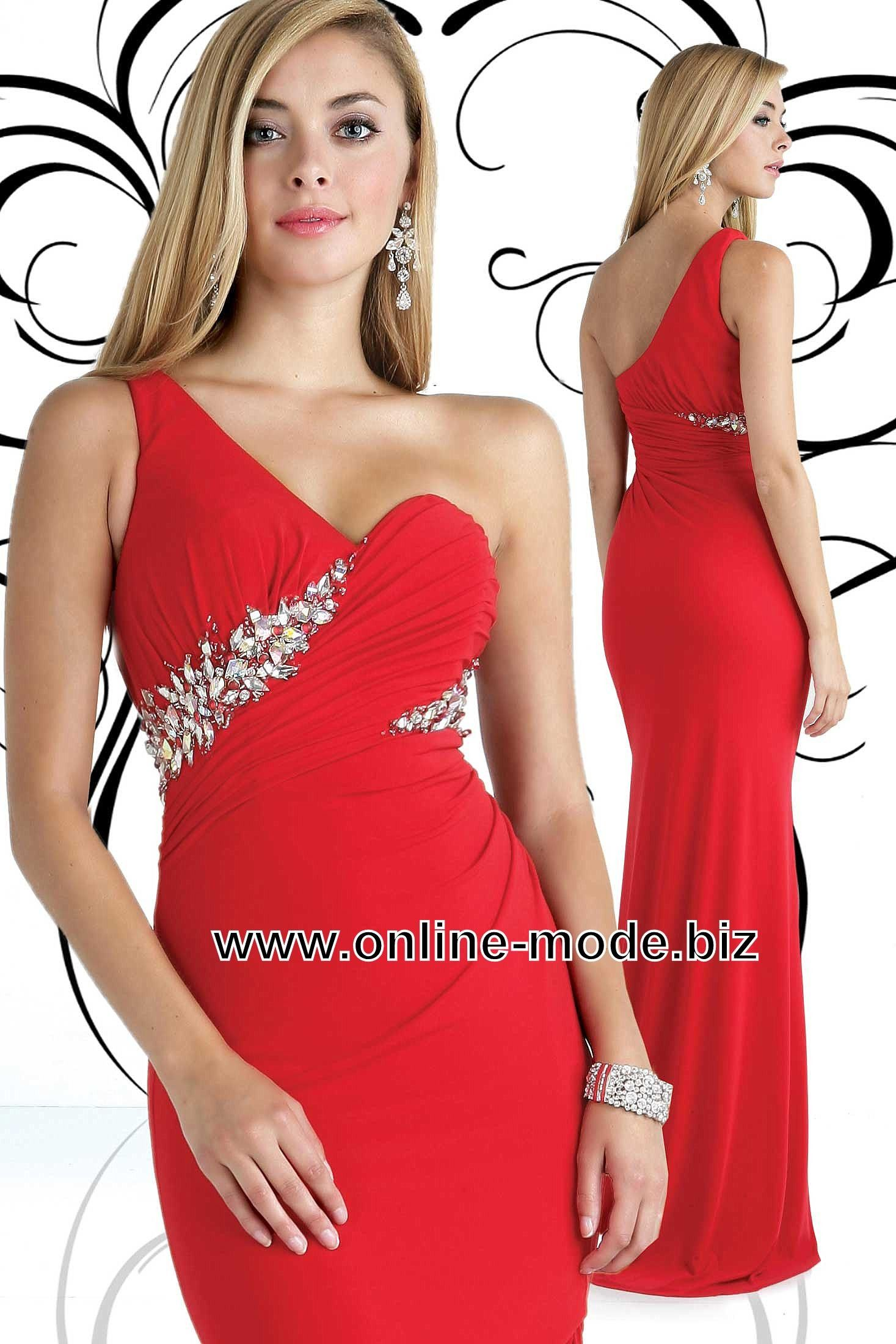 Party Kleid Abendkleid in Rot | Abendkleider | Pinterest
