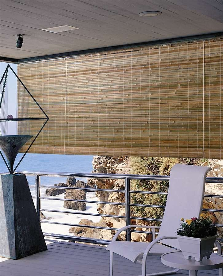 Estores de bamb para exterior beados pitufa pinterest - Estores para balcones ...