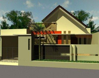 gambar desain rumah minimalis 1 lantai sederhana 1 | rumah