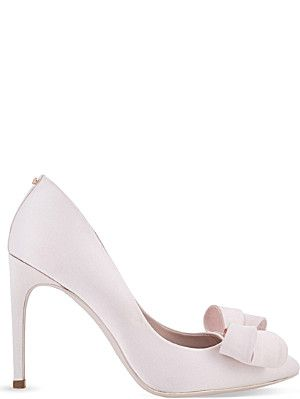 a4020e6be51 TED BAKER Ichlibi satin courts - from Selfridges | Wedding Shoes ...