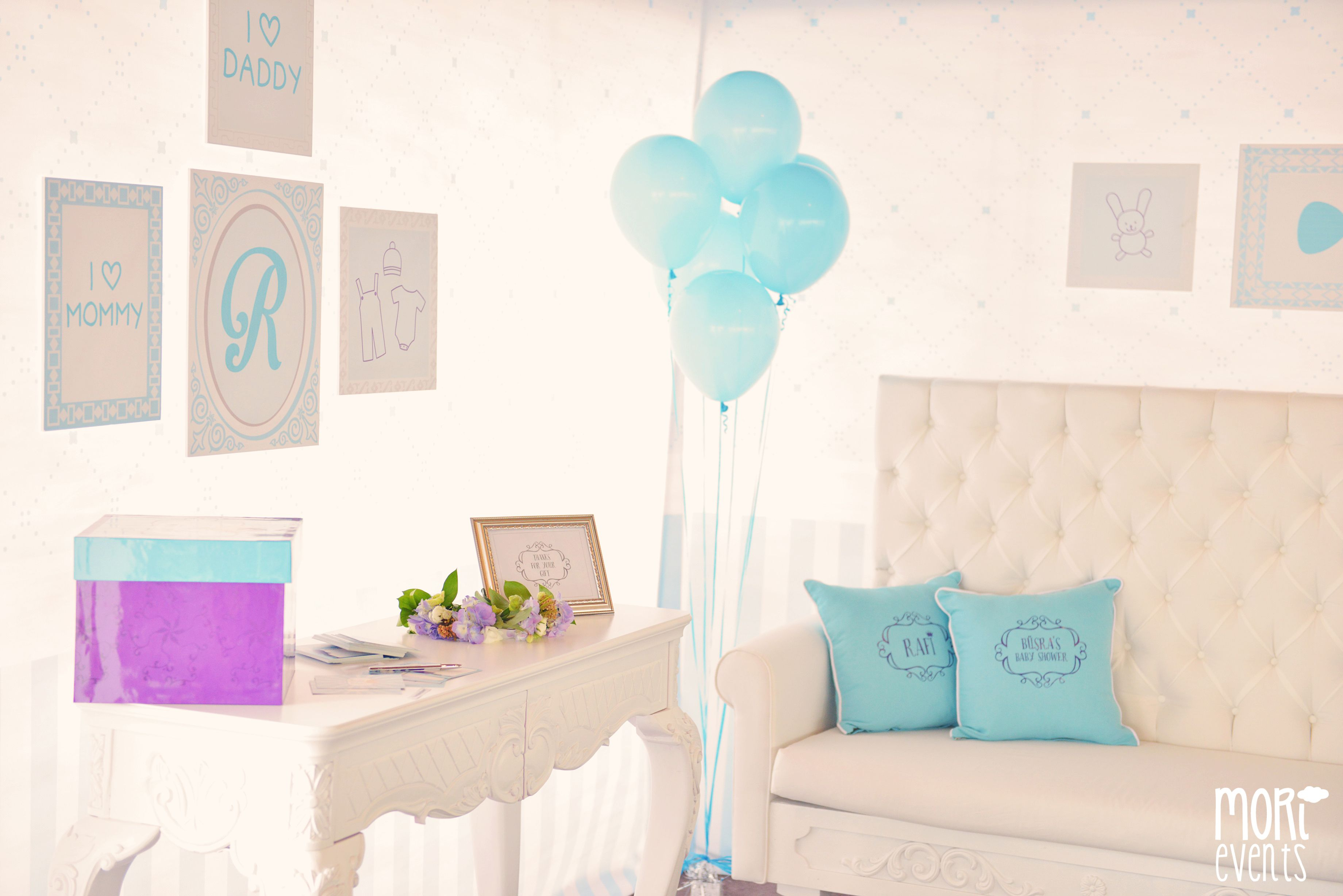Baby Shower By Mori Events Baby Shower Blue Party Baby