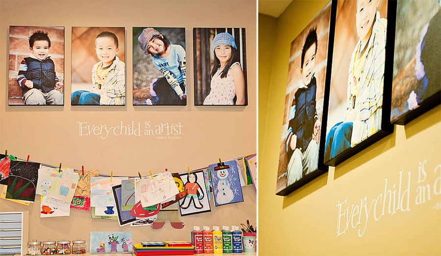 19 Ways to Display Photographs in Your Home | Display, Walls and ...