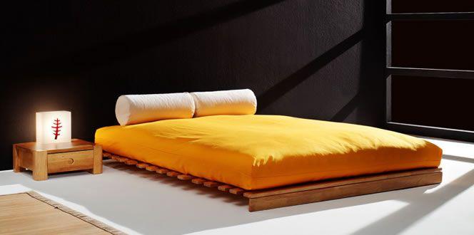 Referencia dise o de interior japones futon cama - Somier japones ...
