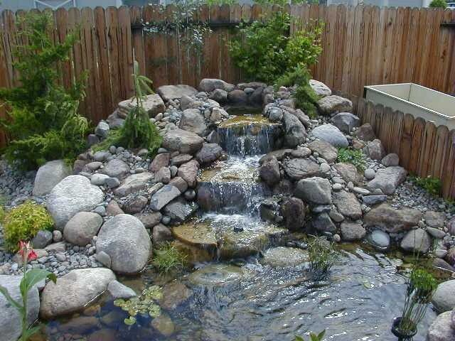 garden water feature rockery Google Search Rockery Garden