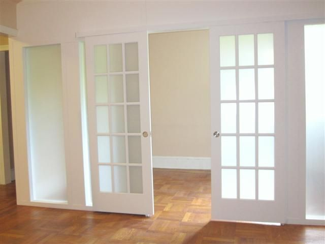 French Door Room Paions Wall For Home Sliding Frosted Gl Doors 46