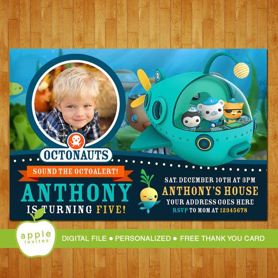 Octonauts Party Invitations Gallery invitation templates free download