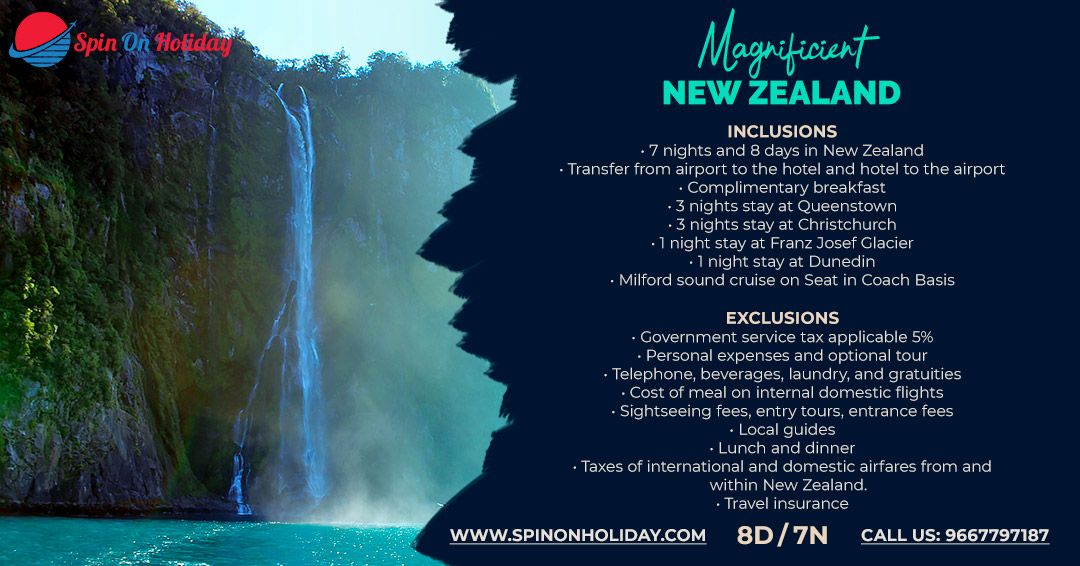 New Zealand Tour Package Wonderful scenery, huge mountains, sand beaches amp many more exciting place