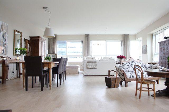 Small Eclectic Apartment Interior Design In Amsterdam Apartment