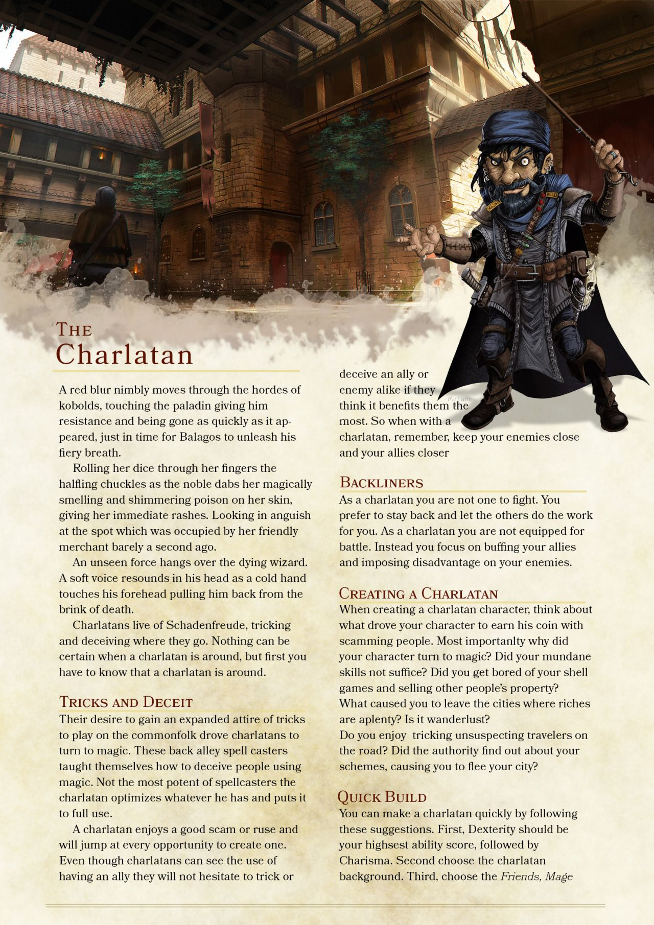 Charlatan Class by Zuroyuso  Warning: This class is fairly