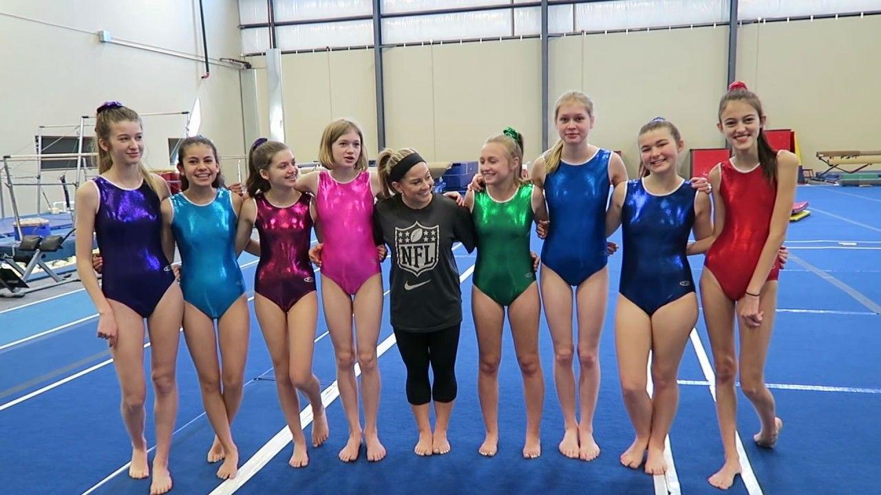 Gymnastics With The Sevensupergirls Ginastica