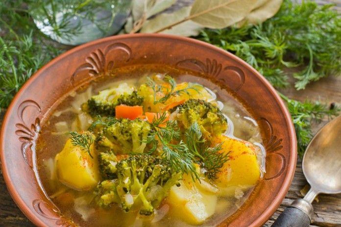 суп с грибами лапшой и картошкой
