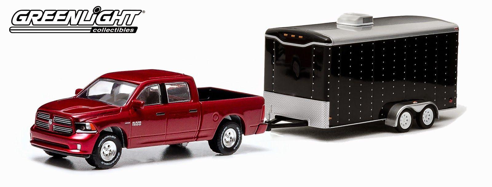 Dodge Ram with Box Trailer Enclosed car hauler, 2014 ram