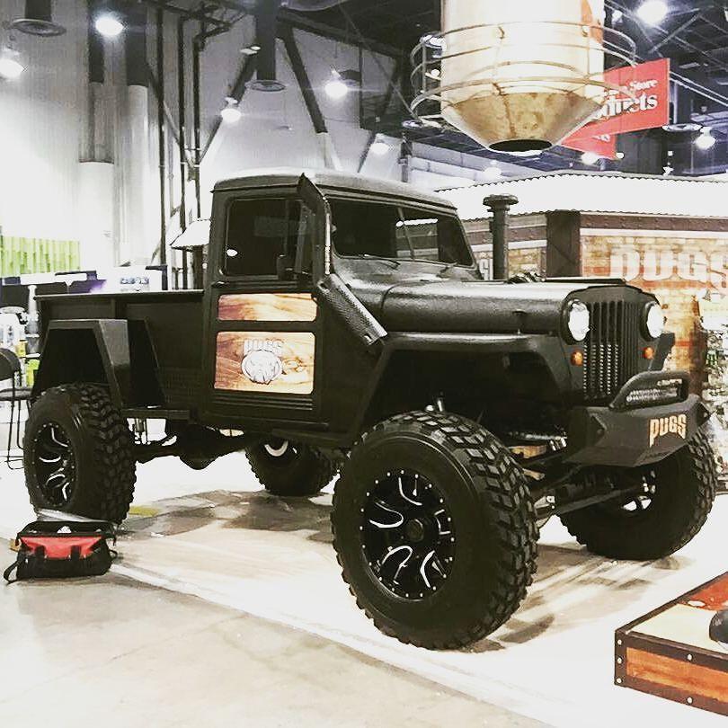 1948 Willys Diesel Brothers Build W Cummins 4bt Jeep Truck Willys Wagon Trucks