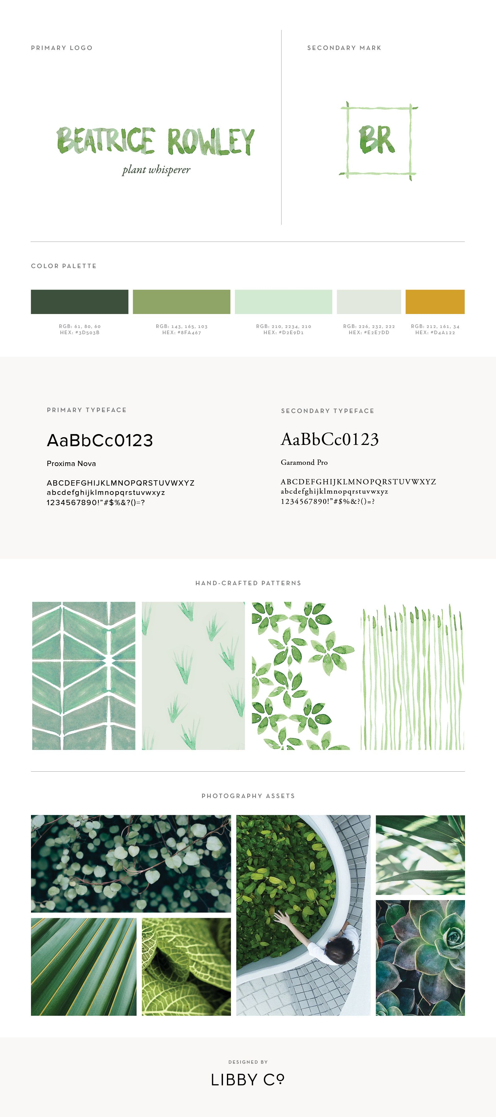 Free Brand Style Guide Template Branding Pinterest Brand Style
