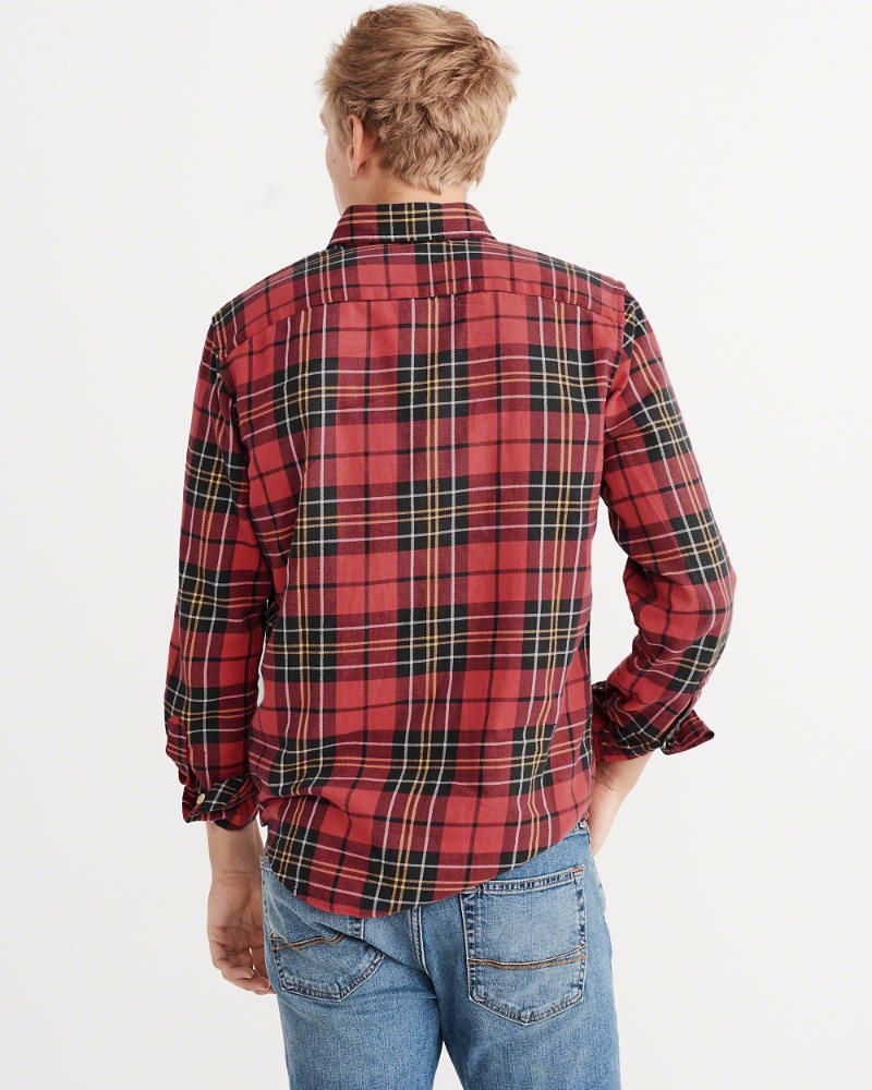 Flannel shirt season  AuF Menus Washed Flannel Shirt  Flannel shirts and Products